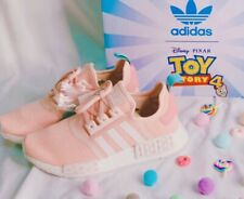 Adidas NMD R1 Toy Story 4 Bo Peep youth girl's shoes pink/white EG7316 size 4, 5