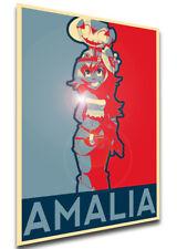 Poster Propaganda - MA0267 Wakfu - Amalia Sheran Sharm Variant