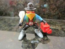 Imaginext Fisher Price Great Adventures Western Cowboy bank robber money bag box