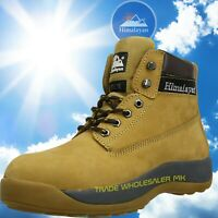 Himalayan Steel Toe Safety Work Boots Iconic Design 5150 Wheat Honey Boots