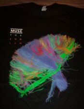 MUSE The 2nd Law NORTH AMERICA 2013 TOUR T-Shirt Band 2XL XXL NEW