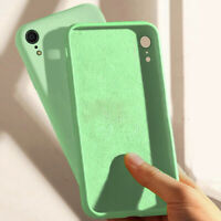 360° Protection 6D Liquid Silicone Silk Case Cover For iPhone Xs Max 8 Plus Skin