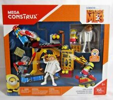 Mega Construx Despecable ME3 Building Bricks Blocks New MINION Dru's Lair Easter