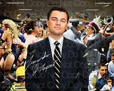 Wolf Of Wallstreet poster Dicaprio 8X10 photo picture signed autograph RP 3