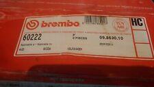 2x Genuine Brembo Vented 312mm Front Brake Discs Audi A4 A6 Seat Skoda VW Passat