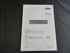 Original  Service Manual LOEWE CD 160