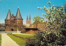Bt11812 Lubeck hoistentor marienkirche Germany