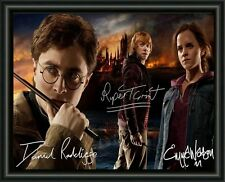 HARRY POTTER - CAST - A4 SIGNED AUTOGRAPHED PHOTO POSTER  FREE POST