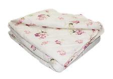 Tagesdecke Bettüberwurf ca. 220x240 cm Sofa Überwurf Decke Rosen Blumenmuster