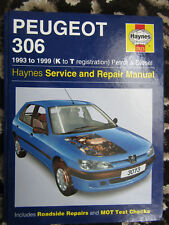 Peugeot 306 1993-1999 Petrol & Diesel Haynes Service & Repair Manual