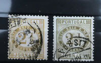 PORTUGAL: 2 1/2 Reis newspaper stamps Used