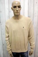 RALPH LAUREN Taglia XL Maglione Uomo Cotone Sweater Pullover Maglietta Man