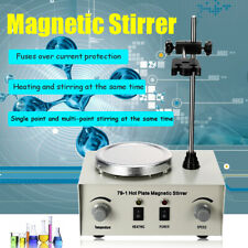 1000ml Magnetic Stirrer Lab Heating Mixer Blender Hot Plate Temperature Control