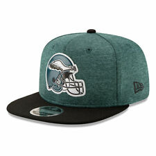 Philadelphia Eagles NFL THE HELMET LOGO 9Fifty Snapback Hat - Green/Black