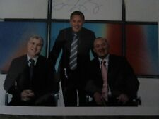 Signed Photograph of the Sky Rugby Commentary Team(Stuart Barnes, Dewi Morris &