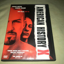 American History X Dvd Ed Norton Edward Furlong Tony Kaye Drama Movie