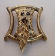 ancien bijoux broche bronze de Jeanne Peral n°7