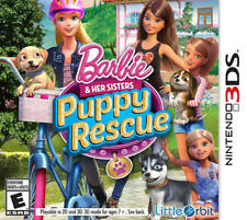 Barbie and Her Sisters: Puppy Rescue 3DS New Nintendo 3DS, Nintendo 3DS