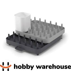 Joseph Joseph Connect Adjustable 3 Piece Dish Rack - Grey