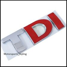 TDI Badge Emblema Decalcomania Sticker LOGO VW Audi Seat Skoda GOLF MK4 MK5 MK6 auto (31)