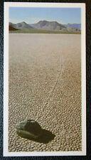 Death Valley  California   Moving Rocks   Original Colour Card   CAT A