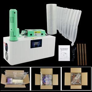 Luftpolstermaschine Luftkissenmaschine Luftpolstersystem + HDPE Luftpolsterfolie