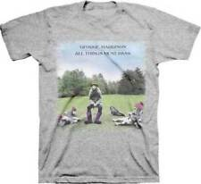 BEATLES GEORGE HARRISON All Things Must Pass T-shirt Licensed Tee Mens 2XL New