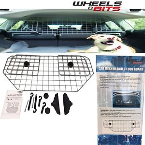 UNIVERSAL Mesh Heavy Duty Car Dog Pet Guard Barrier Safety Headrest Protector