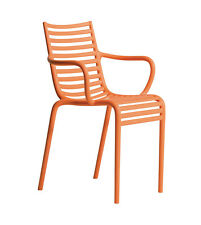 DRIADE set da 4 sedie con braccioli impilabili PIP-E design by Philippe Starck