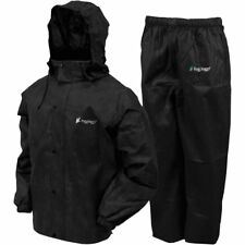 Frogg Toggs All Sport Rain Suit (Black / XL Size)
