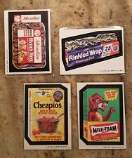 1973 Topps Wacky Packages Series 4 Windhex Clairoil Complete 30 Card Set