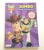 CLEARANCE SALE! Disney PIXAR TOY STORY 4 Jumbo Coloring & Activity Book
