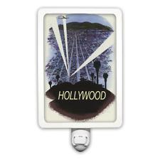 Hollywood Vintage Poster Night Light