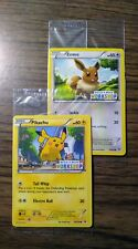 Pikachu & Eevee SEALED Promo Cards Build A Bear Workshop Exclusive Limited New