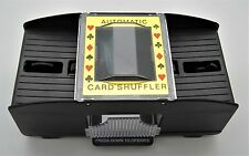 Automatic Playing Card Shuffler 1- 2 Decks Battery Operated Easy Free Shipping *