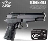 Toy Academy COLT Double Eagle Hand Gun Air Spring 6mm Double Hopup 224x138x34mm