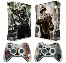 COD 019 Vinyl Cover Decal Skin Sticker for Xbox360 slim and 2 controller skins