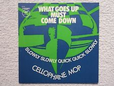 """Vinyl-7""""-Cover # only Cover # Cellophane Mop # What Goes Up Must # 1969 # m-"""