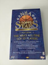 1996-97 Topps NBA Stars Basketball Box - New, Factory Sealed, Jordan, Refractors