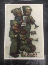 1951 Osnabruck Germany Postcard B. Hummel Cover Four Christmas Boys
