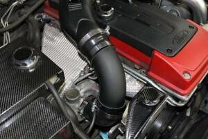 "Ford FG XR6 Turbo Intake Air Muffler Delete Black Alloy 3.5"""