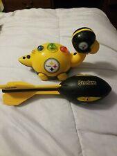 New listing Nerf Vortex Mega Howler Nfl Pittsburgh Steelers Rare Football & Toy Dinosaur
