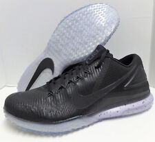 Mens DS Nike Zoom Trout 3 Turf Baseball Shoes 844628-001 Size 9.5 Black/Black