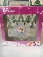 Prinzessin Cinderella Disney Weihnachten Schneeflocke Ornament NEU in Packung