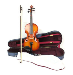 Knilling Bucharest K 4F 4/4 Violin No 9934 Wood 4 String With Hard Case