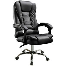 Racing Gaming Chair Ergonomic Leather Swivel Office Computer Desk Seat + Massage