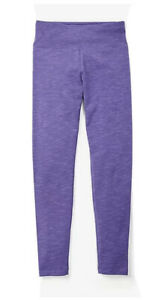 JUSTICE Purple Full Length Leggings Size 14💜💜💜