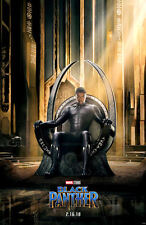 "Black Panther ( 11"" x 17"" ) Movie Collector's Poster Print - B2G1F"