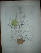 Paul Klee 1947 Limited Edition Pochoir DESTRUCTION & HOPE Zerstoerung & Hoffnung