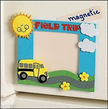 School Field Trip Photo Magnet Craft Kit 4 Kids ABCraft